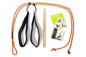 REHAPE Slingtrainer mit Abstandhalter und Übungs-DVD