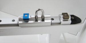 Standard-Schiene mit Schlitten, Stopper und Endstück